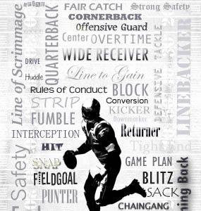 Schlagwörter aus dem American Football