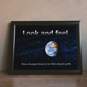 Look n Feel Wandbild