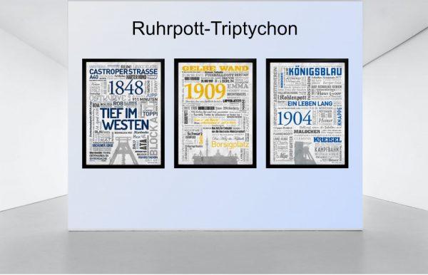 Ruhrpott Trypichon Slider Bochum, Dortmund, Schalke