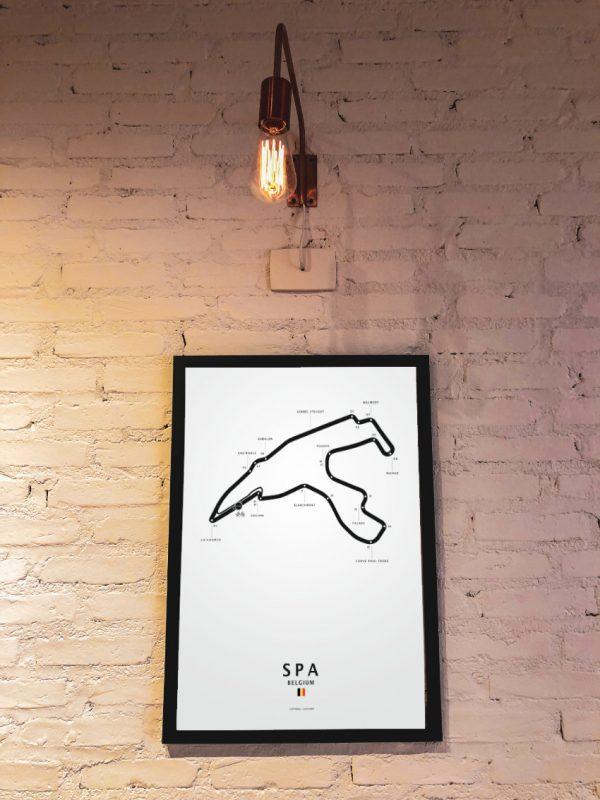 Formel 1 Spa, im Rahmen