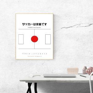 Wandbild Type Japanese
