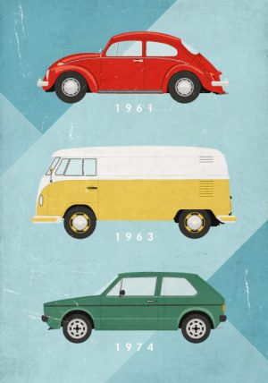 Poster VW Autolegenden