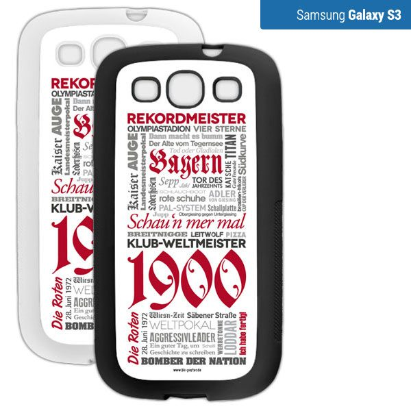 Smartphone Hülle Bayern s3