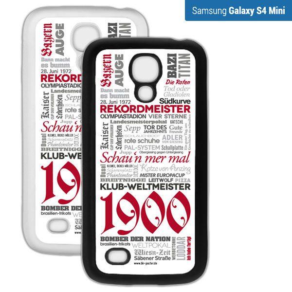 Smartphone Hülle Bayern s4mini