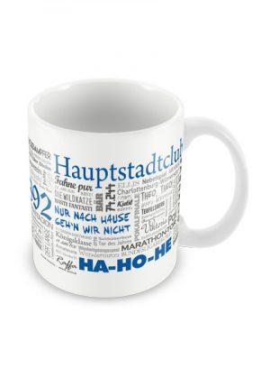 Tasse Wörter Fußball Berlin