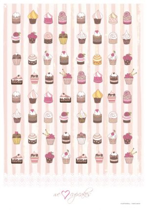 Poster Cupcakes