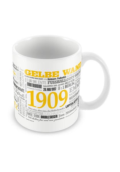 Tasse Wörter Fußball Dortmund