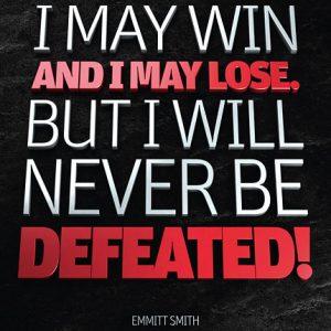 Poster emmit smith - i may win and i may lose