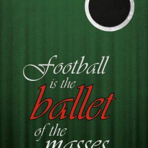 Poster Football Ballet of the masses