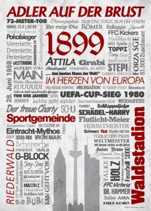 Wörterposter Fußball Frankfurt