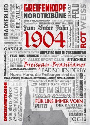 Wörterposter Fußball Freiburg