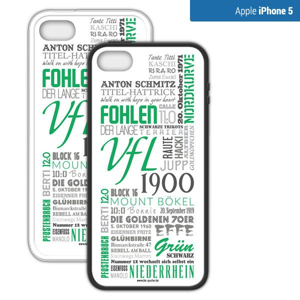 Smartphone Hülle Mönchengladbach-iphone 5