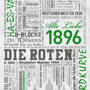 Wörterposter Fußball Hannover