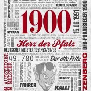 Wörterposter Fußball Kaiserslautern