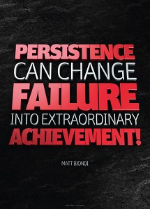 matt biondi - persistence can change