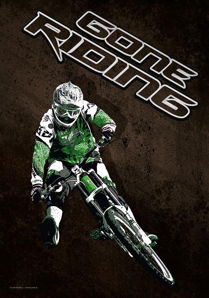 Poster Mountainbike