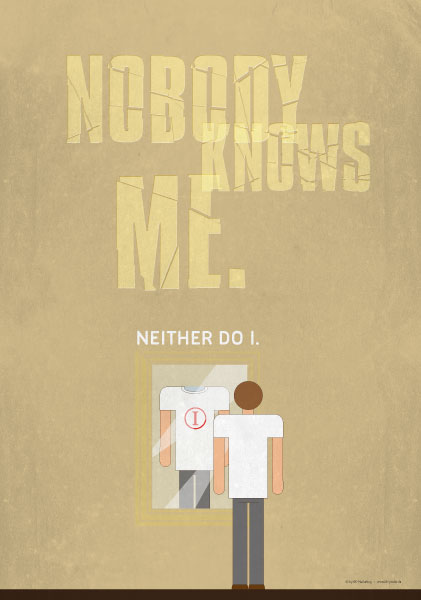 Poster Nobody knows me