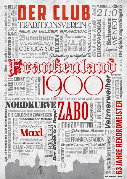 Wörterposter Nürnberg