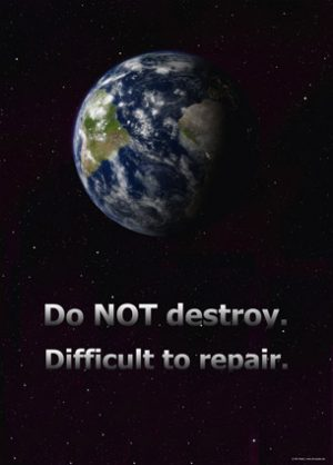Do not destroy. Difficult to repair.