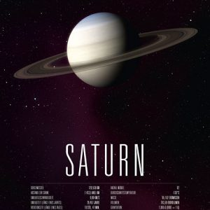 Poster Planet Saturn
