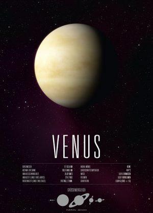 Poster Planet Venus