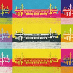 Poster Stadion Dortmund Pop-Art