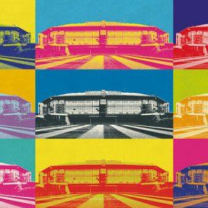 Poster Stadion Schalke Pop-Art
