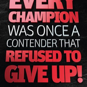 Poster rocky balboa - every champion was once a contender