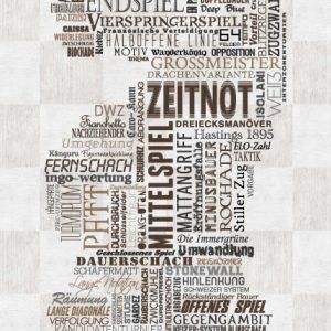 Poster Schachbegriffe