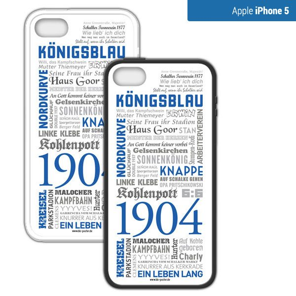 Smartphone Hülle Schalke iPhone5