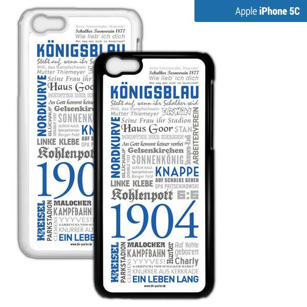 Smartphone Hülle Schalke iPhone5c
