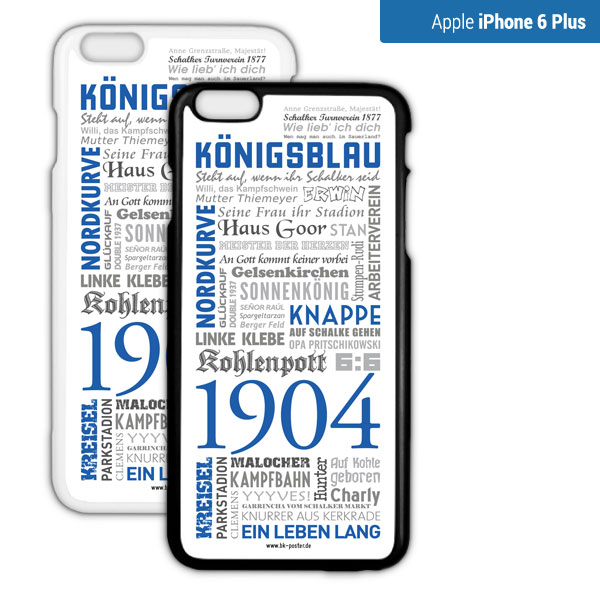 Smartphone Hülle Schalke iPhone6plus