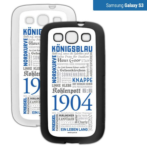 Smartphone Hülle Schalke S3