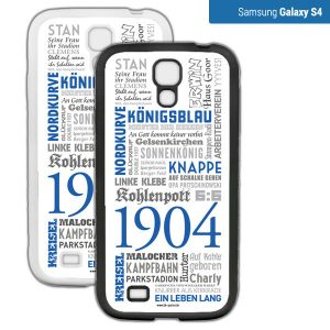 Smartphone Hülle Schalke S4