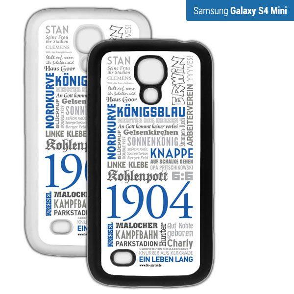 Smartphone Hülle Schalke S4mini