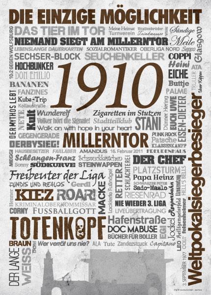 Wörterposter St. Pauli