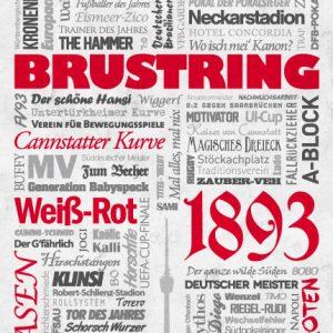 Wörterposter Stuttgart Brustring