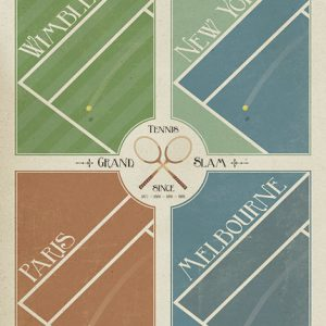 Poster Grand Slam Tennis