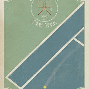 Poster Grand Slam New York