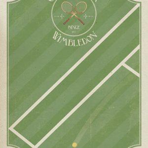 Poster Grand Slam Wimbledon