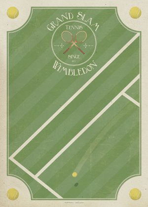 Poster Grand Slam Wimbledon