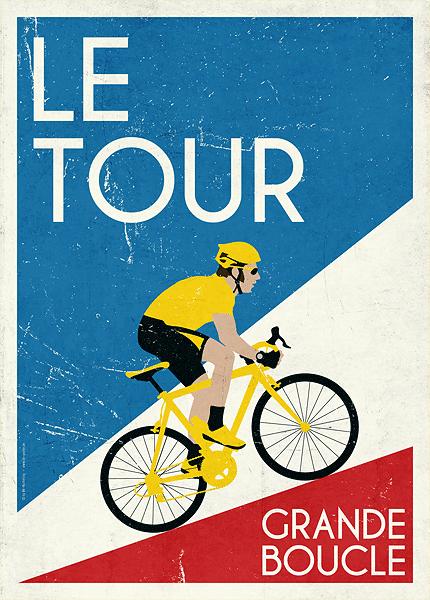 Poster Le Tour