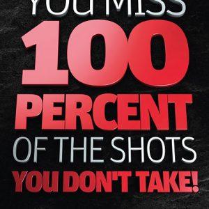 Poster wayne gretzky - you miss 100 percent
